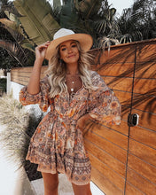 Load image into Gallery viewer, Anaise Boho Dress - Peachy Cola