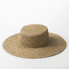 Load image into Gallery viewer, Natural Sun Hat - Peachy Cola