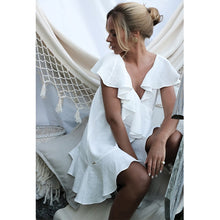 Load image into Gallery viewer, Angeline Layer Beach Dress - Peachy Cola