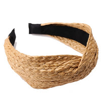 Load image into Gallery viewer, Boho Straw Weave Headband