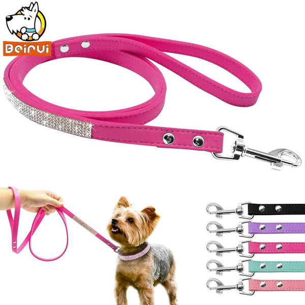 Suede Leather Leash