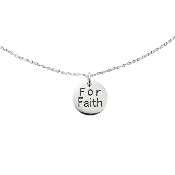 Charms of Hope™ For Faith Petite Pendant