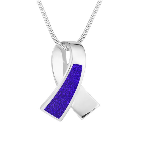 Ribbons of Hope™ Solid Pendant