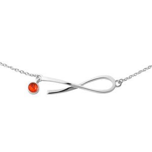 Ribbons of Hope™ Sideways Solid Pendant