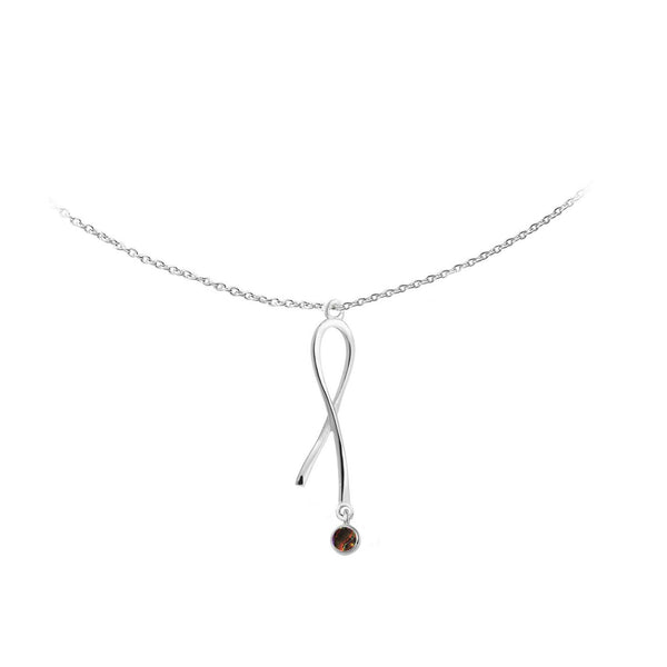Ribbons of Hope™ Vertical Pendant E'Sperene