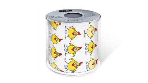 Paper+Design -Toilet Paper, Chicken In Action