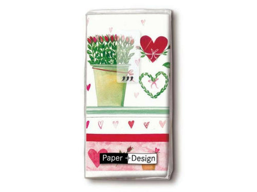 Paper+Design - Hankies, Growing Hearts