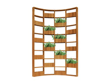 Load image into Gallery viewer, Teakwood Greenwall Panel Curve, 4 x 8