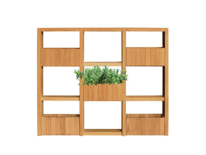 Teakwood Greenwall Panel Straight, 3 x 3