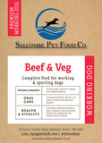 Working Dog Premium Beef and Veg