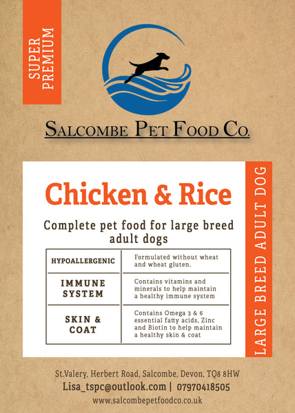 Super Premium Large Breed Chicken and Rice
