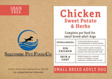 Grain Free Small Breed Chicken, Sweet Potato and Herbs