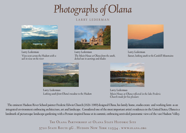 Photographs of Olana Boxed Notecards