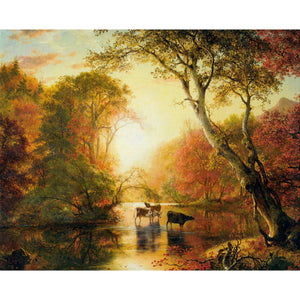"Autumn by Frederic Church 11""x14"" Print"