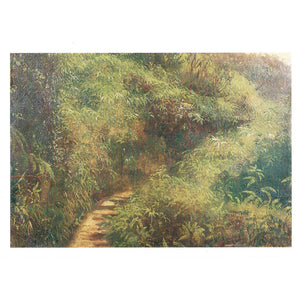Fern Walk, Jamaica Notecard