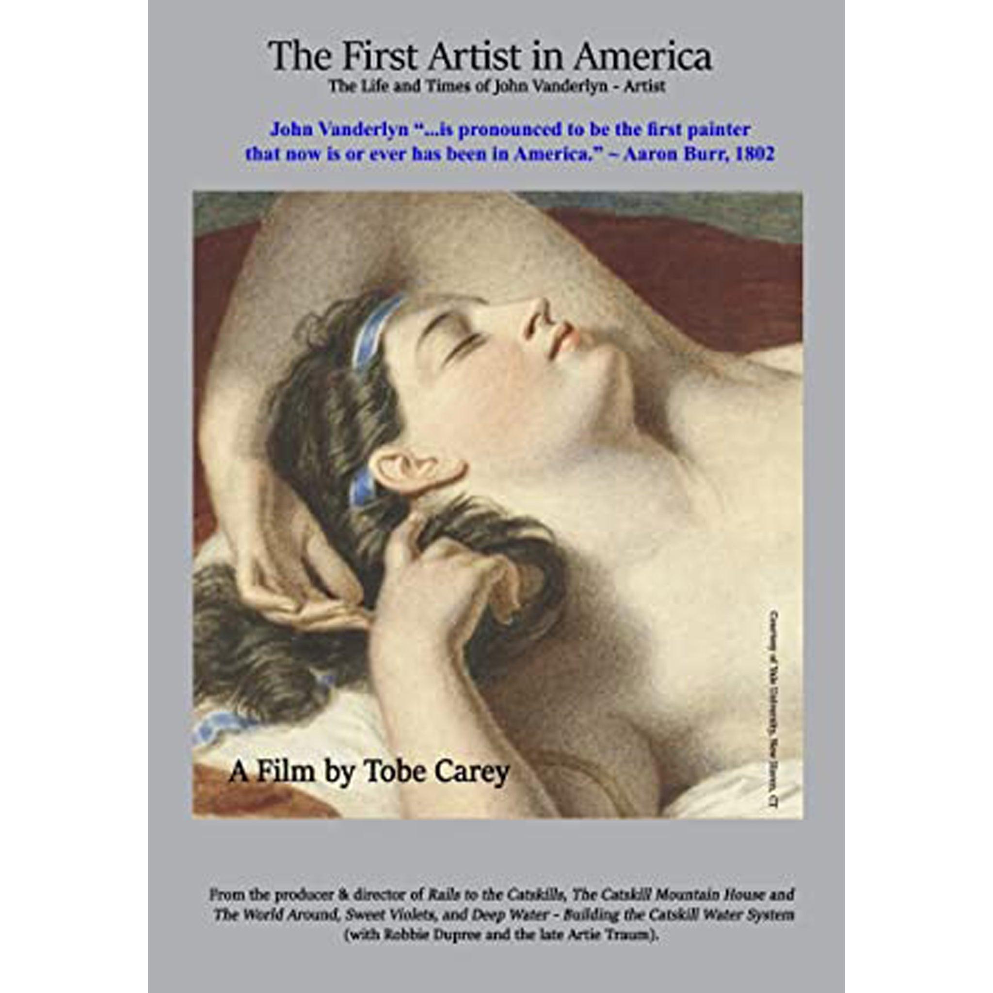 The First Artist in America DVD