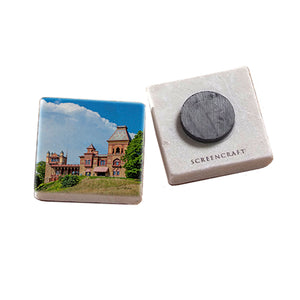 Frederic Church's Olana, Main House Marble Magnet