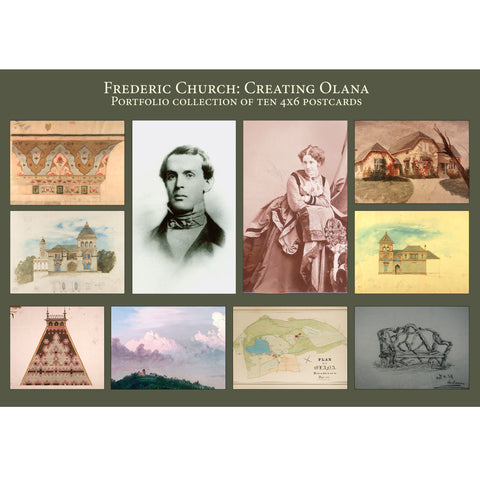 Frederic Church: Creating Olana Postcard Portfolio
