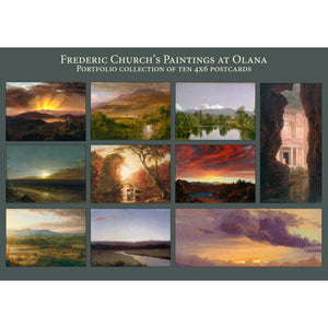 Frederic Church's Paintings at Olana Postcard Portfolio