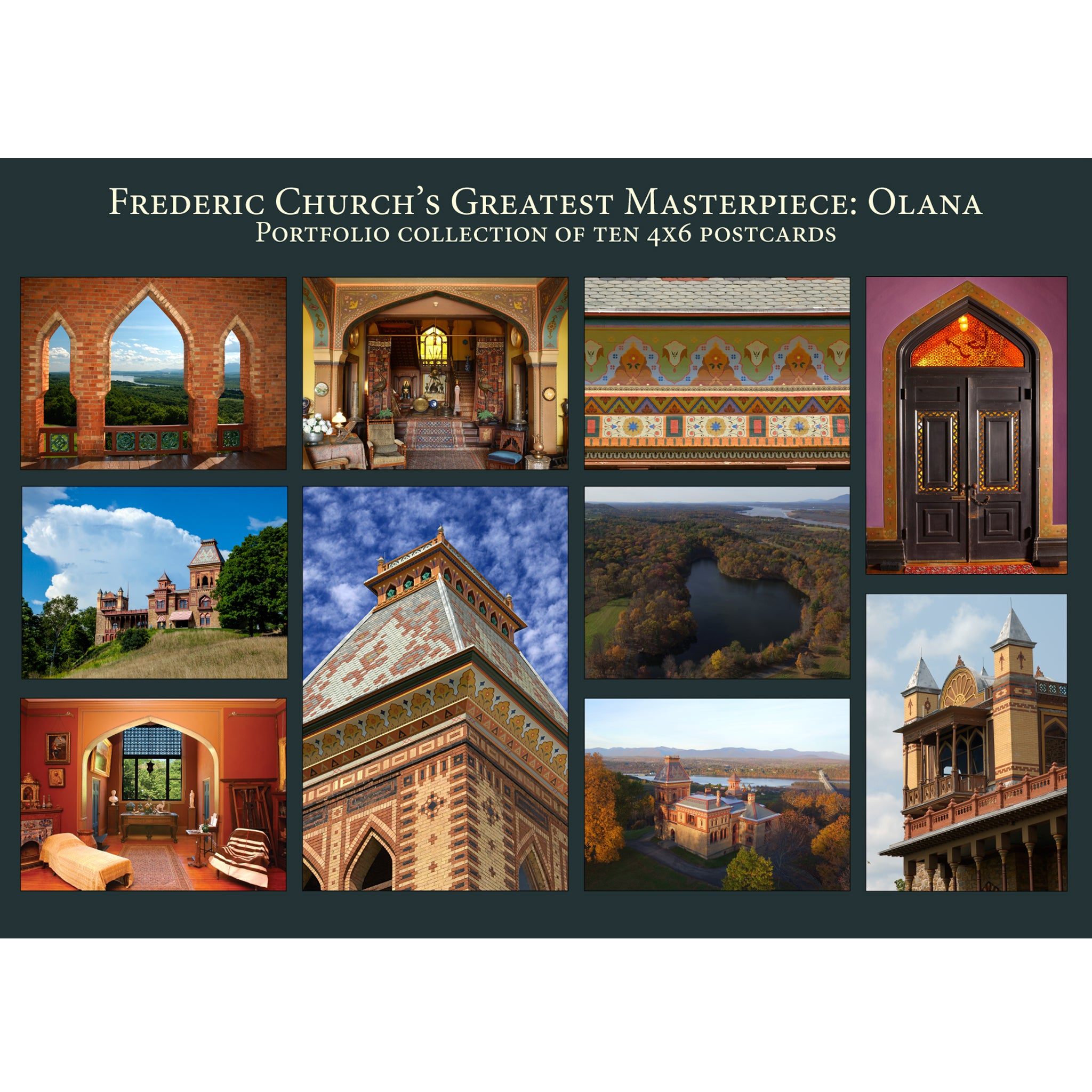 Frederic Church's Greatest Masterpiece: Olana Postcard Portfolio