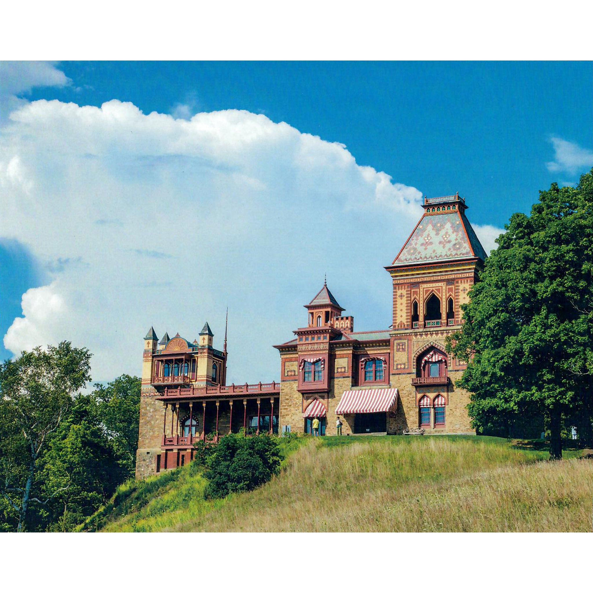 "Clouds Over Main House, Olana 8""x10"" Print"