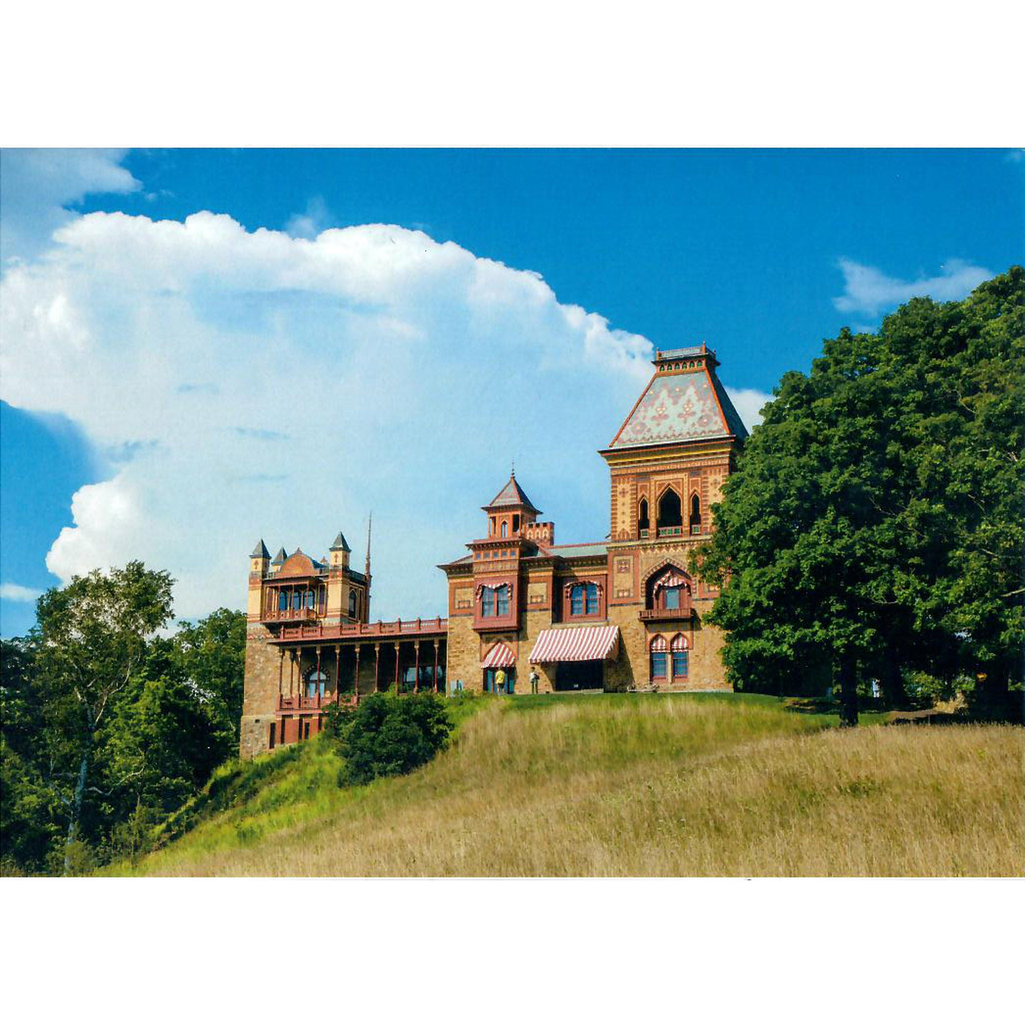 Clouds over Main House Notecard