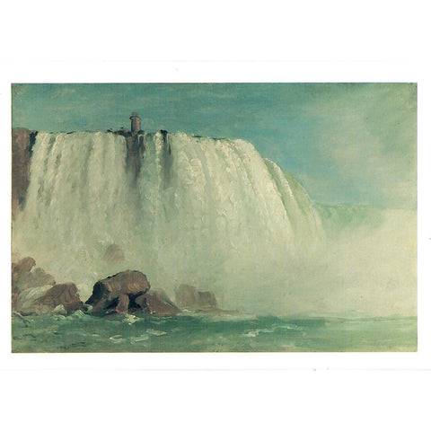 "Study for ""Under Niagara"" Notecard"