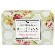 Beekman 1802 Apricot and Honey Tea Goat Milk Soap