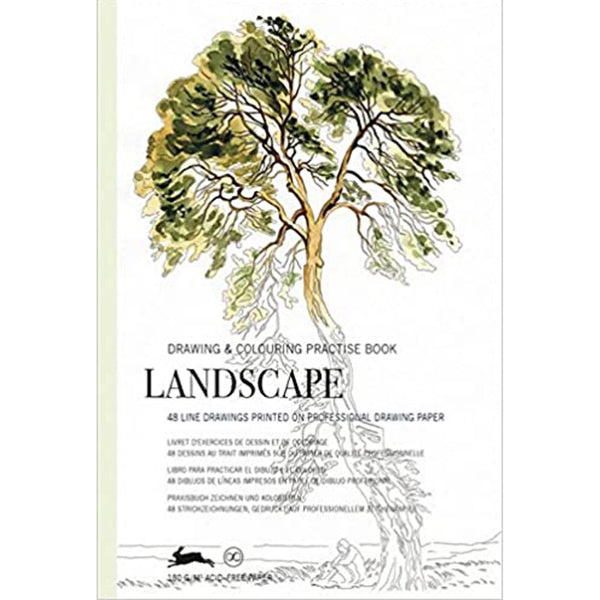 Landscape: Drawing & Colouring Practise Book