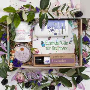 Emelia gift box containing six products