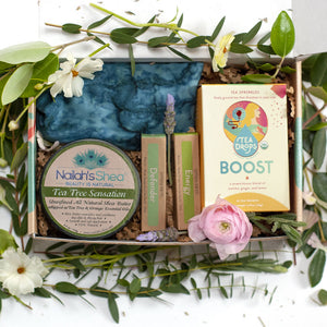 Larita gift box containing five products
