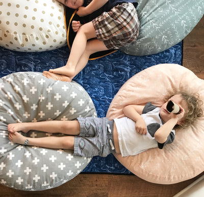 Round Floor Pillow - Choose Your Fabric