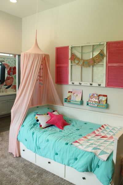 Play Tent Canopy - Blush Pink