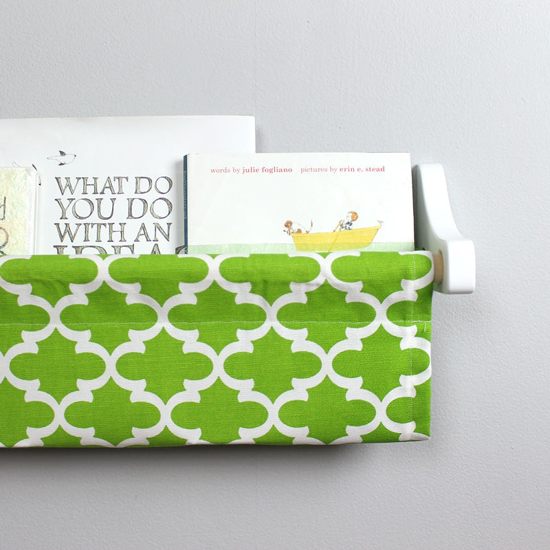 Green Trellis Book Sling