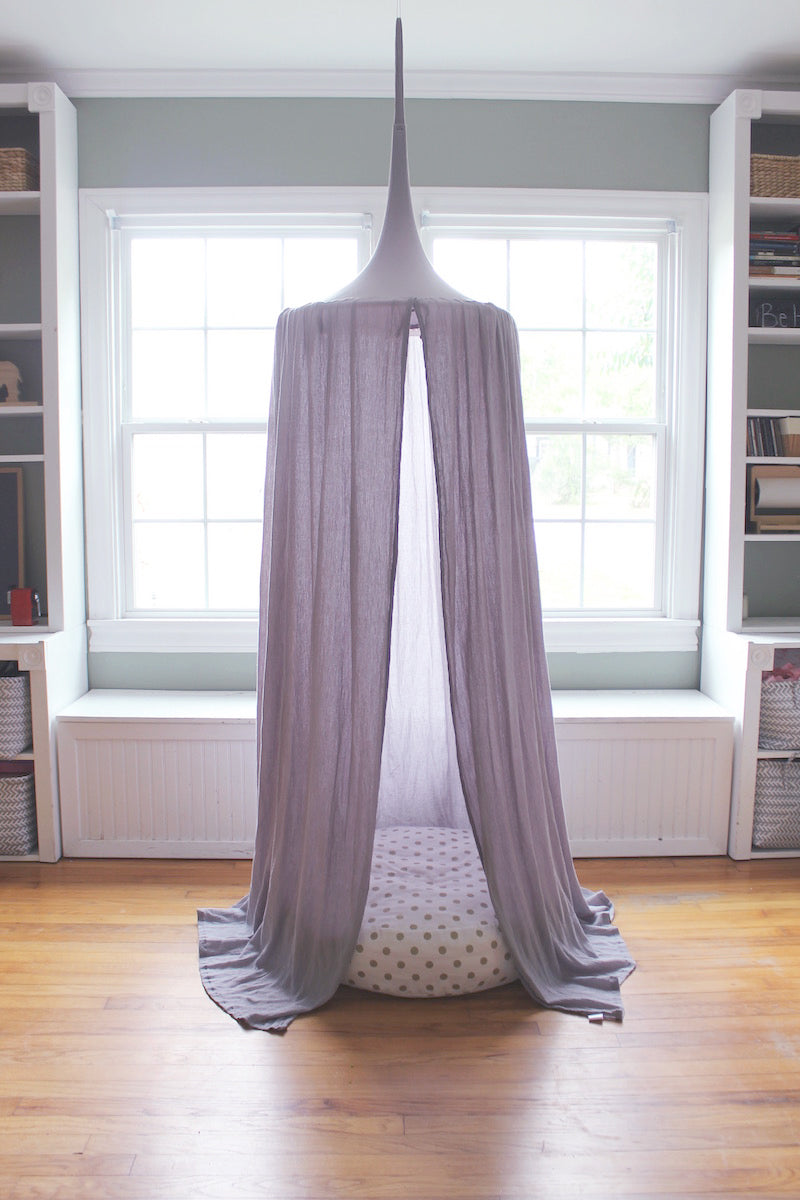 Play Tent Canopy - Stone/Grey