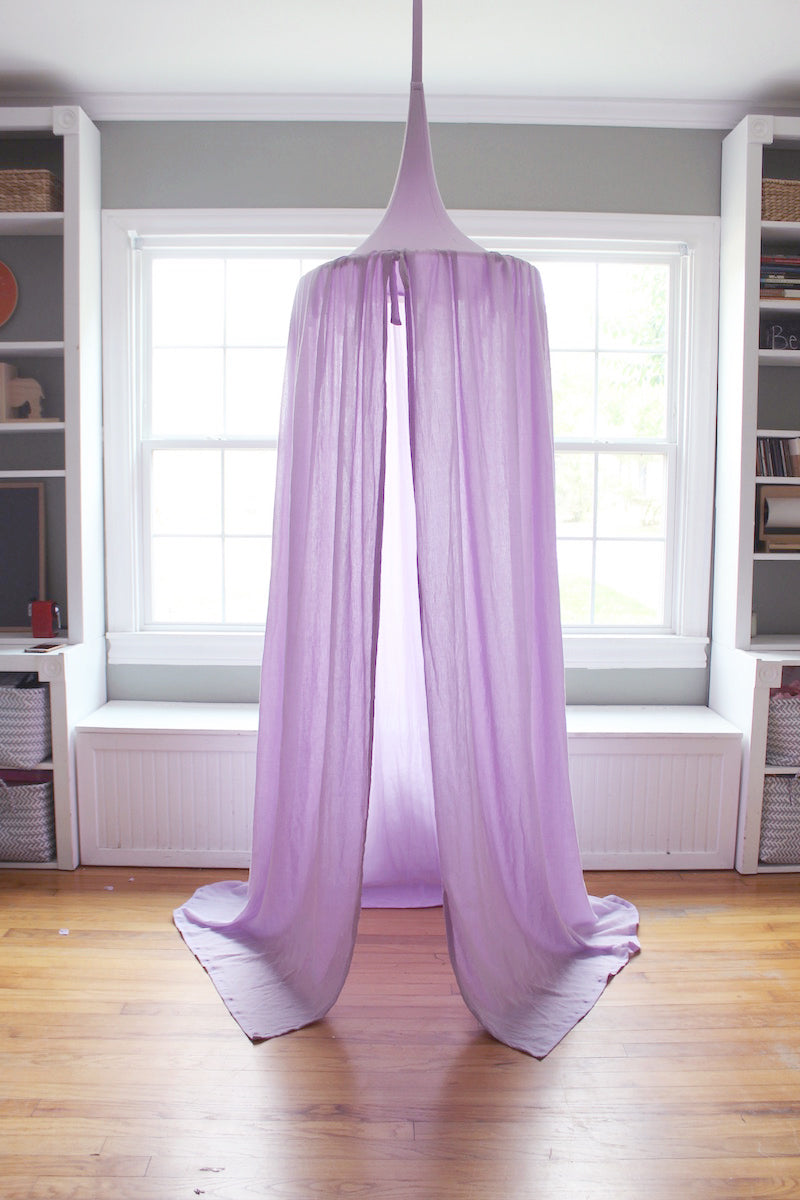 Play Tent Canopy - Lavender
