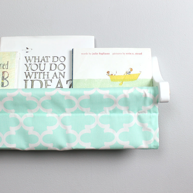 Mint Trellis Book Sling