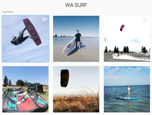 WA Surf Instagram