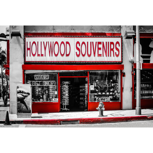 Fine Art Print, California, Hollywood Souvenirs, Urban Art