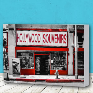 Fine Art Canvas Print, California, Hollywood, Urban Art