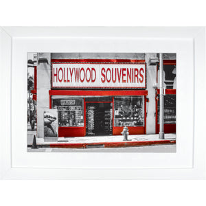 Framed Fine Art Print, California, Hollywood, Urban Art