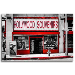 Fine Art Metal Print, Urban Photography, California, Hollywood Souvenirs