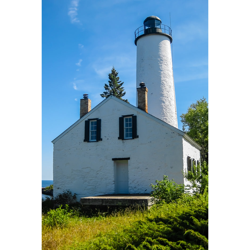 Fine Art Print, Michigan, Isle Royale, Lighthouse