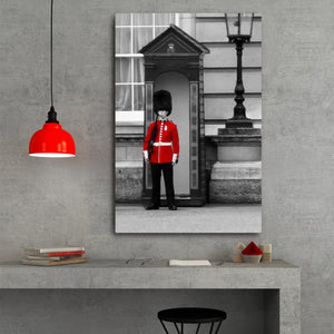 Fine Art Metal Print, Europe Photography, London Royal Guard