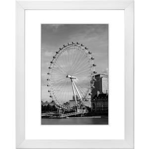 Framed Fine Art Print, London Eye, Ferris Wheel