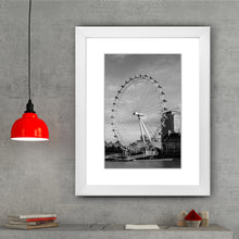 Load image into Gallery viewer, Framed Fine Art Print, London Eye, Ferris Wheel