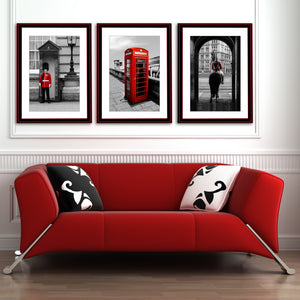 Fine Art Print, London Guard on Horse