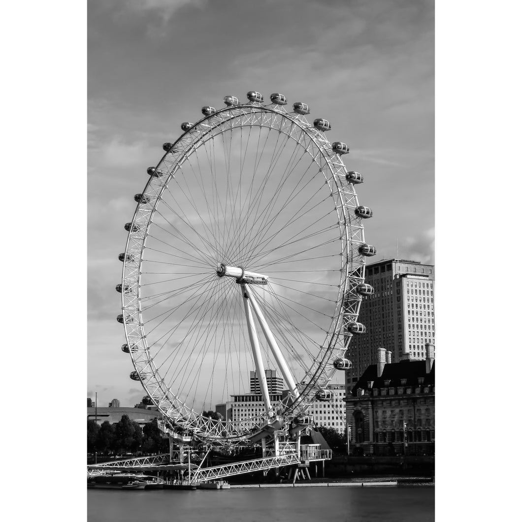 Fine Art Print, London Eye, Ferris Wheel