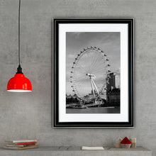 Load image into Gallery viewer, Fine Art Print, London Eye, Ferris Wheel