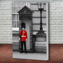 Load image into Gallery viewer, Fine Art Canvas Print, London England, Royal Guard